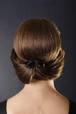 Classic hairstyle Stock Images