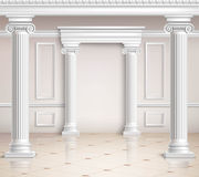 Classic Hall Design Royalty Free Stock Images