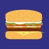 Classic Hamburger Stock Photography