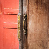 Classic handle door vintage Royalty Free Stock Photography