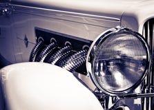 Classic Headlight Stock Photography