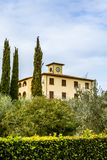 Classic hilly landscape in the Tuscan countryside - 3. Classic hilly landscape in the Tuscan countryside Stock Photography