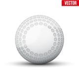 Classic Hockey Field Ball. Sport Equipment. Editable Vector illustration Isolated on white background Stock Photo