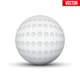 Classic Hockey Field Ball. Sport Equipment. Editable Vector illustration Isolated on white background Royalty Free Stock Image