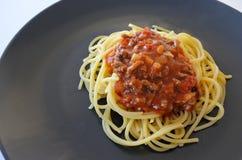 Classic homemade Spaghetti Bolognese Stock Images