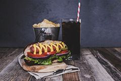 Hot Dog Chips Soda Stock Images Download 92 Royalty Free Photos