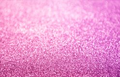 Classic hot pink glitter background. Selective focus and stylish - design element Royalty Free Stock Images