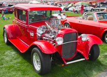 Classic Hot Rod Automobile Royalty Free Stock Photos