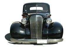 Classic Hot Rod Black Isolated royalty free stock photo