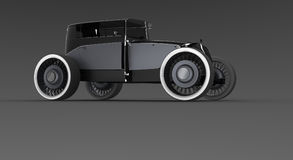 classic hot rod car Stock Image