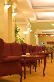 Classic hotel lobby. A view of fine furniture and furnishings in the lobby of a classic old hotel lobby Stock Photo