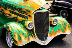 Classic  hotrod  car. Classic hotrod car. This photo has no property release Royalty Free Stock Photos