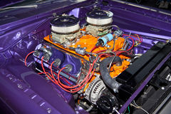 Classic Hotrod Engine Stock Photo