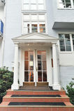 Luxury house. The main entrance Stock Photography