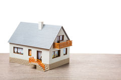 Classic house model Royalty Free Stock Photo