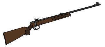Classic hunting rifle Stock Photos