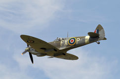 Classic iconic fighter plane Royalty Free Stock Images