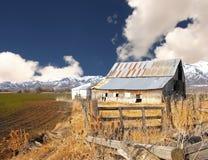 Classic Idaho barn Stock Image