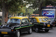 Classic Indian Taxis Royalty Free Stock Image