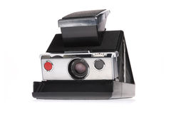 Classic Instant Polaroid Camera stock photo