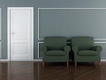 Classic interior Stock Images