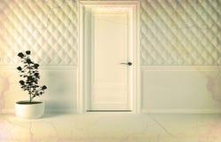 Classic interior design scene. Royalty Free Stock Photo