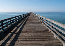 Classic inviting pier Stock Photos