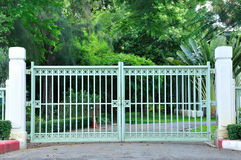 Classic Iron Gate Stock Images