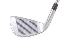 Classic iron Golf club. With clipping path Stock Photo