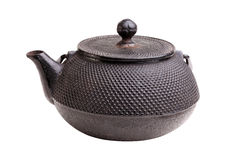 Classic iron kettle Royalty Free Stock Image