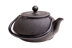 Classic iron kettle Stock Images