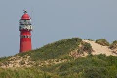 Classic iron lighthouse Stock Photo