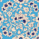 Classic islamic floral pattern Royalty Free Stock Images