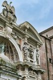 Classic italian architecture Royalty Free Stock Image