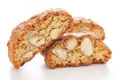 Classic Italian biscotti Stock Images