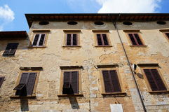 Classic Italian building Royalty Free Stock Images