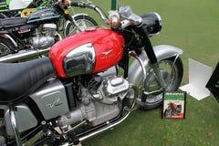 Classic italian motorcycle Royalty Free Stock Photography