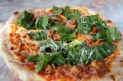 Classic italian pizza Stock Images