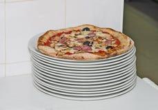 Classic italian pizza Royalty Free Stock Photos