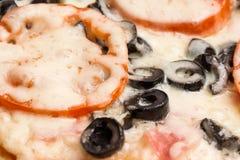 Classic Italian Pizza Stock Photo