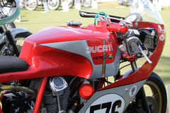 Classic italian racing motorcycle Stock Photo