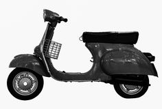 Classic Italian scooter Stock Photo