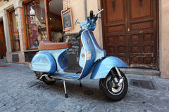 Classic Italian Vespa scooter Stock Photography