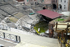 Classic Italy - ruin Greek to Syracuse royalty free stock photography