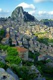 Classic Italy ,Sicily, Caltabelotta Stock Image