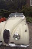 Classic jaguar car Royalty Free Stock Photos