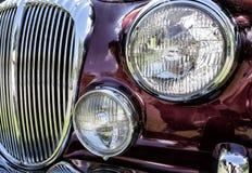 Classic Jaguar car Royalty Free Stock Image