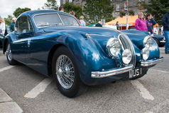 Classic Jaguar XK120 Coupe Stock Photo