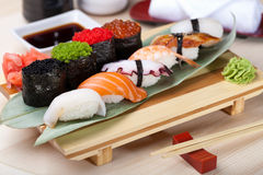 Classic japanese food Royalty Free Stock Image