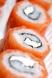 Classic japanese food  sushi Royalty Free Stock Photos